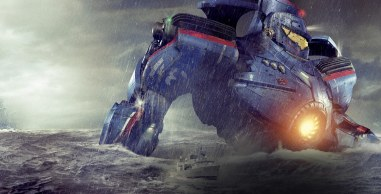 Des créatures sortent des failles géologiques au fond de l'océan. Les humains les combattent avec des robots géants.
