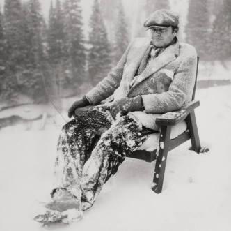 "Jack Nicholson, ""The Shining"" in Colorado, 1980. Photograph by Albert Watson."