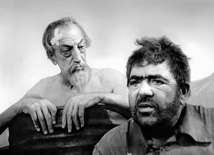 Francisco Reiguera et Akim Tamiroff dans Don Quichotte