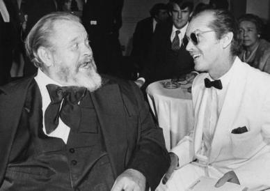 Orson Welles et jack Nicholson furent partenaires dans A Safe Place, de Henry Jaglom (1971)