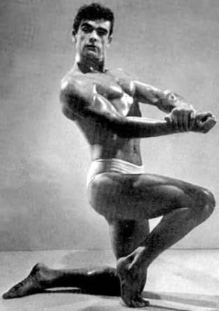 Sean Connery a été troisième du concours Mr Univers en 1950