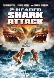 Des jeunes gens partis batifoler (et faire l'amour à plusieurs) sur une île isolée se font déchiqueter par un terrible requin à deux têtes. Avec la vétérante Carmen Electra. À noter qu'il existe un 3-Headed Shark Attack sorti en 2015.