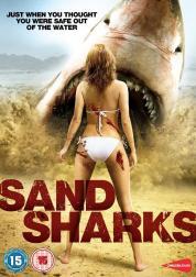 Des requins préhistoriques capables de se déplacer dans le sable s'invitent à une beach party. Vous vous demandiez ce que devenait Parker Lewis ? Il joue dans des films de requins (voir infra)